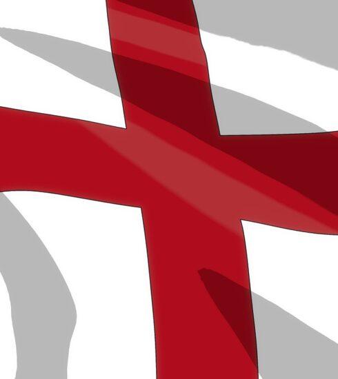 Flag England Cartoon  - Marius_Oberholster / Pixabay
