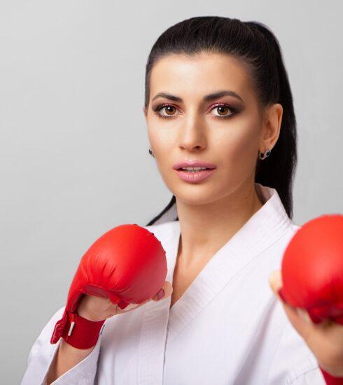 Woman Portrait Karate Taekwondo  - innamikitas / Pixabay